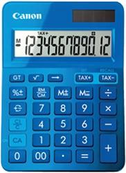 REKENMACHINE CANON LS-123K BLAUW -BUREAUREKENMACHINES 9490B001AA BUREAUREKENMAC