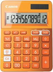 REKENMACHINE CANON LS-123K ORANJE -BUREAUREKENMACHINES 9490B004AA BUREAUREKENMACH