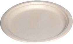 BORD BIO ROND 220MM WIT -DISPOSABLES 28079
