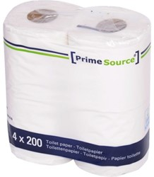 TOILETPAPIER PRIMESOURCE TISSUE 2LAAGS -SANITAIR PAPIERWAREN 60731 200 VEL