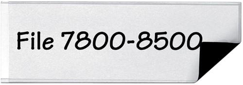 ETIKETHOUDER 3L 10835 55X102MM -ETIKETHOUDERS 10835 MAGNETISCH-3