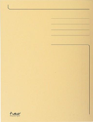 DOSSIERMAP EXACOMPTA FOREVER 280G -VOUW- EN DOSSIERMAPPEN 448002E 3KLEPPEN IVOOR