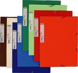 ELASTOMAP EXACOMPTA FOREVER KARTON ASS -ELASTOMAPPEN- EN BOXEN 56980E OPBERGCASSETTE REXEL MO XL ROOD