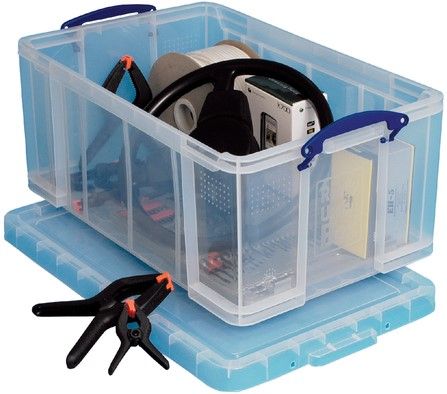 OPBERGBOX REALLY USEFUL 64LITER -OPBERGBOXEN 64C 710X440X310MM-1