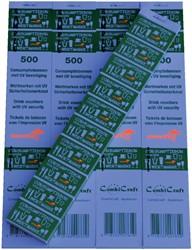 CONSUMPTIEBON COMBICRAFT UV BEVEILIGING -NUMMERBLOKKEN 390051 GROEN
