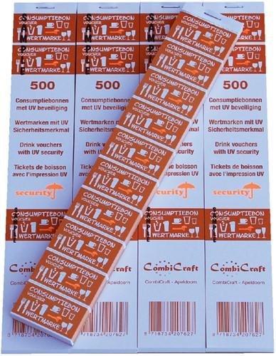 Consumptiebon combicraft uv beveiliging -N90052 390052 Oranje