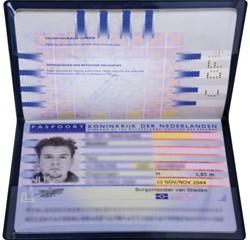 HOES KANGARO PASPOORT HIDENTITY -U-MAPPEN EN ETUIS K-19001 PASSPORT