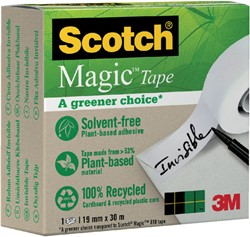PLAKBAND 3M SCOTCH 900 19MMX30M MAGIC -PLAKBAND EN PLAKBANDHOUDERS 9001930 ONZICHTBAAR