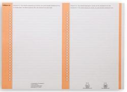 RUITERSTROOK ELBA NR 8 LATERAAL ORANJE -RUITERS RUITERSTROKEN 100330205 ORANJE