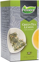 THEE PICKWICK TEA MASTER SEL GREEN TEA -WARME DRANKEN 4016617 LEMON 1.5GR