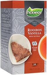 THEE PICKWICK TEA MASTER SEL ROOIBOS -WARME DRANKEN 4016615 VANILLA 2GR