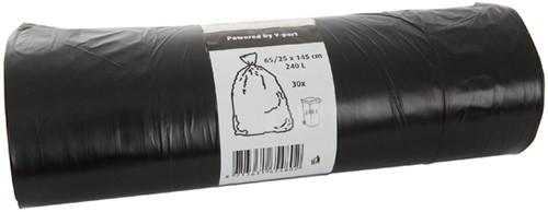 AFVALZAK CONTAINER BLINC -PLASTICZAKKEN 8713631701919 65/25X145X0.012 ZWART
