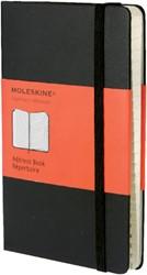 ADRESBOEK MOLESKINE POCKET -ADRESSENREGISTERS IMMM711 Moleskine