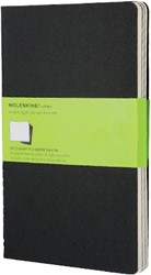 Moleskine Large Plain Cahier -SCHRIFTEN IMQP318 BLACK