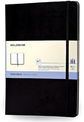 SCHETSBOEK MOLESKINE LARGE -PLAK/SCHETS/TEKENBOEKEN IMARTQP063 BLACK