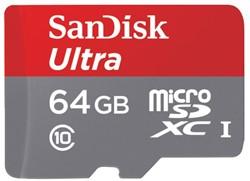 GEHEUGENKAART SANDISK MICRO SDXC -GEHEUGENKAARTEN 139728 ANDROID 64GB CL10