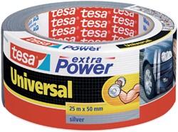 PLAKBAND TESA UNIVERSAL EXTRA POWER -PLAKBAND EN PLAKBANDHOUDERS 56388-00000-12 50MMX25M ZILVER
