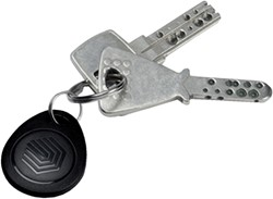 TIJDREGISTRATIE SAFESCAN SLEUTELHANGER -TIJDREGISTRATIESYSTEMEN 125-0342 RFID