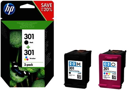 INKCARTRIDGE HP 301 N9J72AE ZWART KLEUR -HP INKJET 2509173
