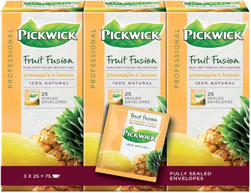 THEE PICKWICK PROFESSIONAL FUSION -WARME DRANKEN 4016837 ANANAS 1.5GR