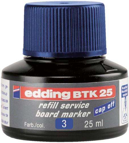 VILTSTIFTINKT EDDING BTK25 VOOR -VILTSTIFTEN WHITEBORDEN 4-BTK25003 WHITEBOARD BLAUW