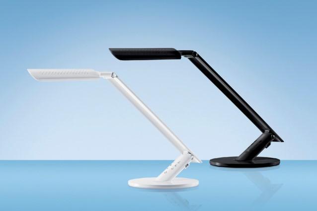 Bureaulamp hansa led excellence wit bureaulampen h bij