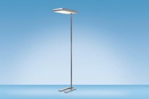 VLOERLAMP HANSA LED MAXLIGHT ALUMINIUM -BUREAULAMPEN H5010661