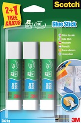 LIJMSTIFT 3M SCOTCH 21GR 2+1 GRATIS -LIJMEN 6263C