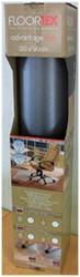 STOELMAT FLOORTEX PVC 90X120CM -STOELMATTEN FCD1190EX TAPIJTVLOER OP ROL