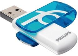 USB-STICK PHILIPS VIVID KEY TYPE 16GB -USB STICKS PHMMD16GBVIV 2.0 BLAUW