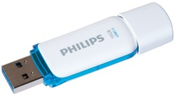 USB-STICK PHILIPS SNOW KEY TYPE 16GB -USB STICKS PHMMD16GBS200U3 3.0 BLAUW