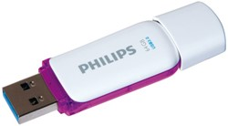 USB-STICK PHILIPS SNOW KEY TYPE 64GB -USB STICKS PHMMD64GBS200U3 3.0 PAARS