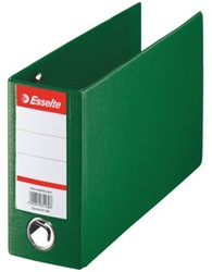 ORDNER ESSELTE GIRO-BANK 80MM PP GROEN -ORDNERS 47096 MERK:ESSELTE