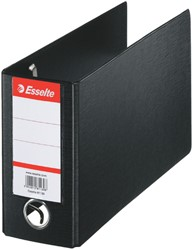 ORDNER ESSELTE GIRO-BANK 80MM PP ZWART -ORDNERS 47097 MERK:ESSELTE