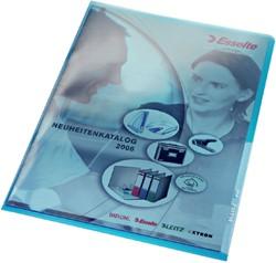 L-MAP LEITZ PREMIUM A4 PVC BLAUW -L-MAPPEN 41000035 INSTEEKHOES LEITZ L-MODEL 4100 A4 PVC BL