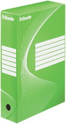ARCHIEFDOOS ESSELTE BOXY 80MM GROEN -ARCHIEFDOZEN 128414