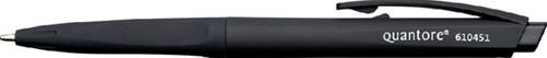 Balpen quantore soft drukknop zwart -Hr8008 BR8008