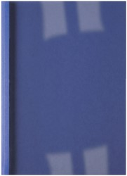 THERMISCHE OMSLAG GBC A4 1.5MM LINNEN -THERMISCHE OMSLAGEN IB386602 DONKERBLAUW