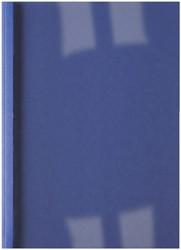 THERMISCHE OMSLAG GBC A4 3MM LINNEN -THERMISCHE OMSLAGEN IB386619 DONKERBLAUW