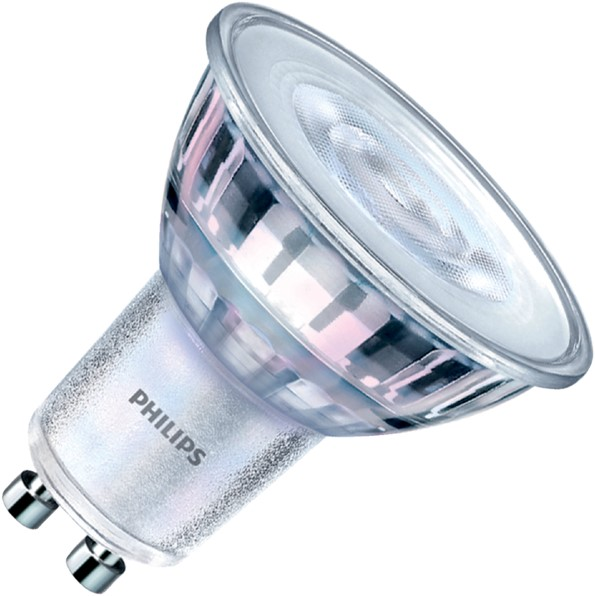 LEDLAMP PHILIPS SPOT GU10 4.9-50W GU10 -LAMPEN EN VERLICHTING 230375 ...