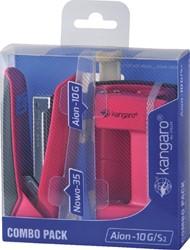 PERFORATOR NIETMACHINE KANGARO COMBO -2-GAT PERFORATOREN K-7203906 PACK ROZE
