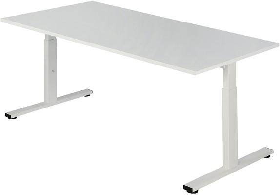 Bureau Pro Fit 160x80cm Instelbaar Wit Klein Meubilair Pfs1608hi