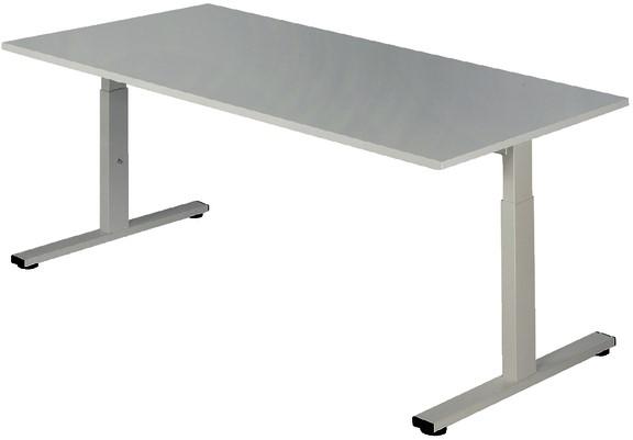 Bureau Pro Fit 160x80cm Vaste Hoogte Klein Meubilair Pfs1608vh W W
