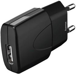 OPLADER HAMA PICCO USB 1A ZWART -TABLET EN PHONE LADERS EN ACC. 173631