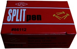 SPLITPEN 25MM KOPER -PAPERCLIPS 86125 PAPERCLIPS
