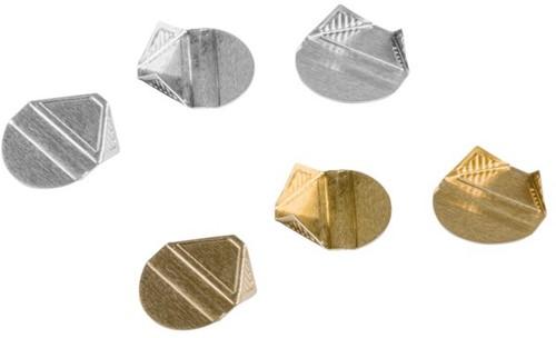 Hoekclip quantore goud -H15603 315603 Hoekclip quantore goud