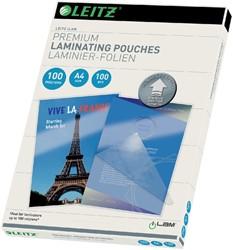 LAMINEERHOES LEITZ ILAM A4 2X100MICRON -LAMINEERHOEZEN 74800000 2X125MICRON
