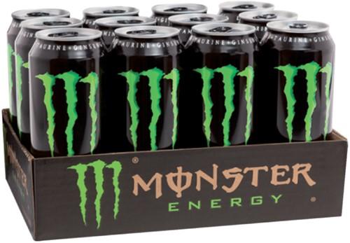 ENERGY DRANK MONSTER BLIKJE 0.50L -KOUDE DRANKEN 405177