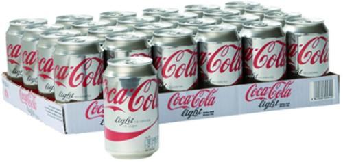FRISDRANK COCA COLA LIGHT BLIKJE 0.33L -KOUDE DRANKEN 401625 FRISDRANK COCA COLA LIGHT BLIKJE 0.33L-3