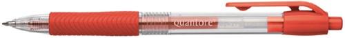 Gelschrijver quantore grip drukknop -H367-2 G367-2 0.5mm rood